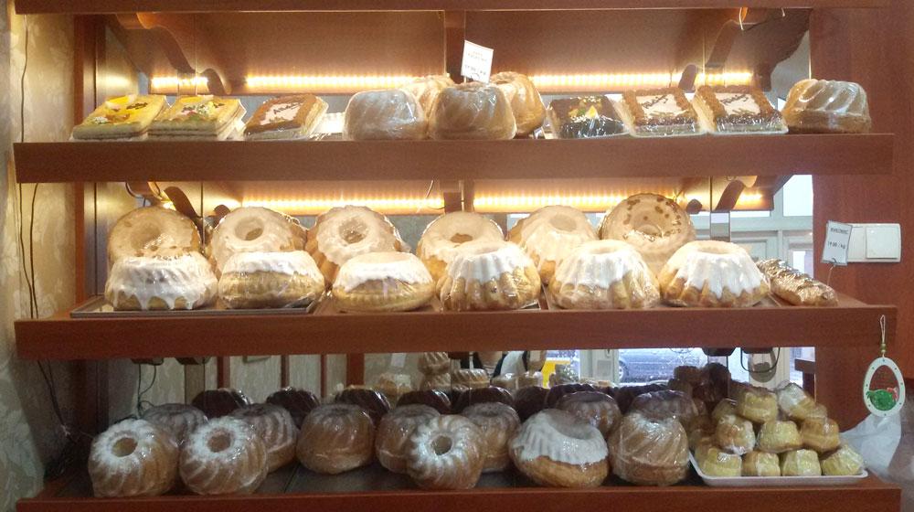 Cukiernia Markiza Stare Babice - sklepik w okresie Świąt Wielkanocnych