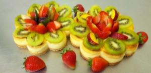 Sernik z owocami - Cukiernia Markiza Stare Babice