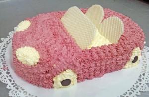 Tort dla dzieci, urodzinowy, samochód - Cukiernia Markiza Stare Babice
