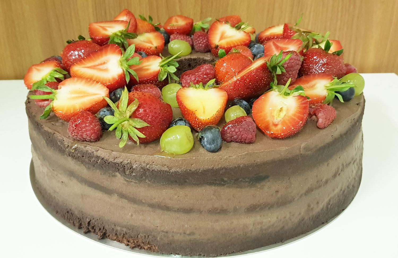 Tort NAKED CAKE - Cukiernia Markiza Stare Babice
