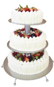Tort weselny - Cukiernia Markiza Stare Babice