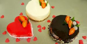 Tort walentynkowy, tort w białej glazurze, tort czerwone serduszko, tort w mocnej czekoladzie - Cukiernia Markiza Stare Babice