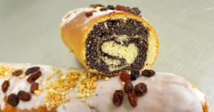 Ciasta wielkanocne z Cukierni Markiza Stare Babice  - makowiec zawijany