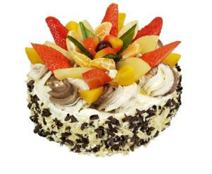 Ciasta wielkanocne z Cukierni Markiza Stare Babice - tort owocowy.